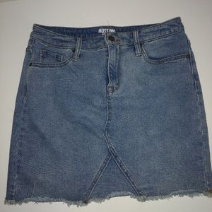 Mossimo Jean skirt Size 6